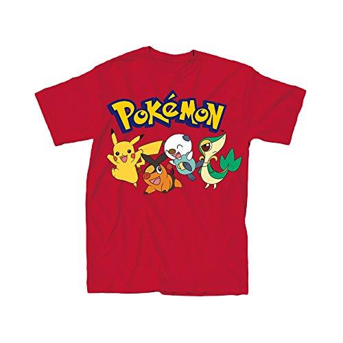 Pokemon Pals Youth T-Shirt (Small)
