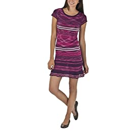Product Image Juniors' Mossimo Supply Co. Spacedye Short Sleeve Sweater Dress - Berry