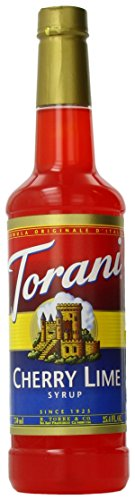 Torani Syrup, Cherry Lime, 25.4 Ounce (Pack of 4) (Cherry Limeade Soda compare prices)