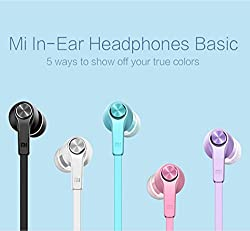 New Original Xiaomi Piston 3 Headphone Youth Colorful Edition 3.5mm Bass Earphone New Version Headset with Remote & Mic flat noodle style cable, anti tangle