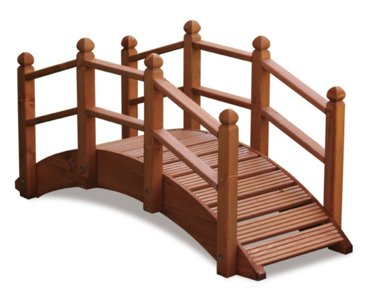 AFK Small Oriental Garden Bridge 001655