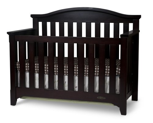 Child Craft Hawthorne Lifetime Convertible Crib, Espresso (Discontinued by Manufacturer)