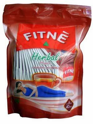 120 Fitne Herbal Tea Slimming Weight Loss & Fat Burning From Thailand