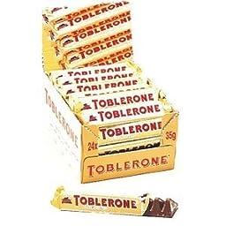 Toblerone Swiss Chocolates - 24ct box
