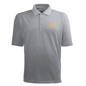 Cal Pique Xtra Lite Polo Shirt (Grey) by Antigua