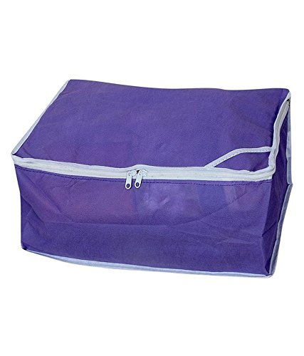 Non woven Saree cover 12 pcs combo/Wardrobe Organiser/Regular Clothes Bag