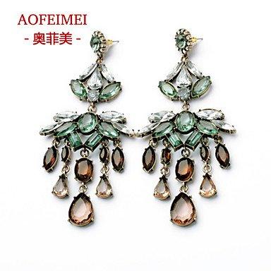 Damen Ohrring Legierung Stud Earrings-Color online kaufen