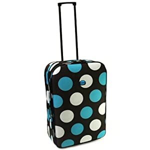 Karabar Super Lightweight Expandable Suitcases - 3 Years Warranty! (20 Inch, Giraffe Brown)