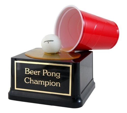 Beer Pong Champion Spill - Trophy Award (Beer Pong Champions compare prices)