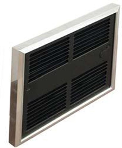 Low Profile 3413 Btu Electric Double Pole ( 240V ) Commercial Fan Forced Wall Heater With Wall Box