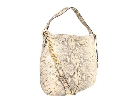 Michael Michael Kors Uptown Astor Large Python-embossed Shoulder Bag