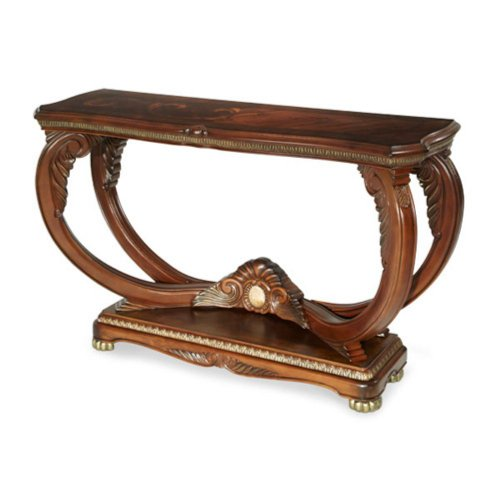 Cheap Aico Cortina Rectangular Console Table – Honey Walnut (N65223-28)