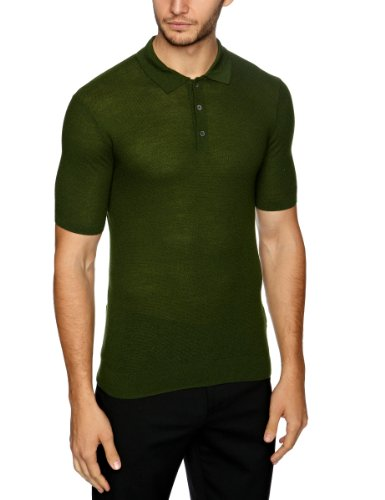 Pringle MQ323 Men's Jumper Forest Green XX-Large