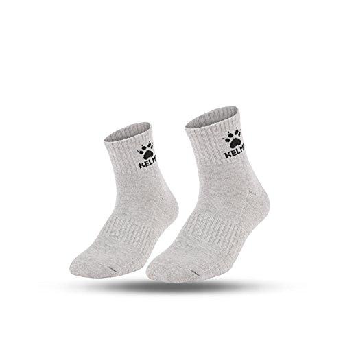 KELME Professional Towel per esercizi di calzini bassi da corsa, da donna, antiscivolo, per amanti di calze per il tempo libero Lightgray M