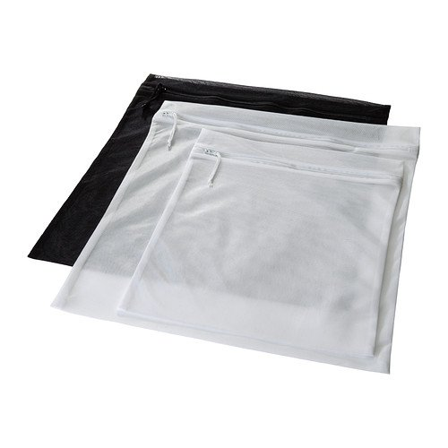 Similar product: Ikea 3 Laundry Wash Bags w/ Zippers & Hanging Hooks Protect Delicate Clothes in the Washing Machine Pressa