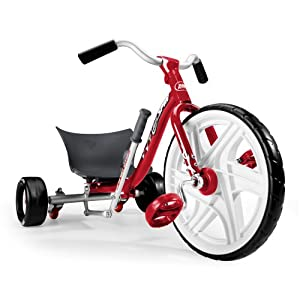 Radio Flyer Tailspin Trike, Red by Radio Flyer