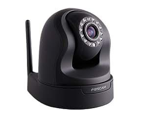 Foscam FI9826W Caméra IP Wi-Fi Ethernet Sans P2P Noir
