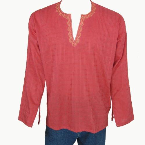Boys Long Sleeve Casual Cotton Shirt Kurta India