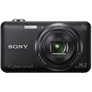 Sony DSC-WX80/B 16.2 MP Digital Camera with 2.7-Inch LCD (Black)