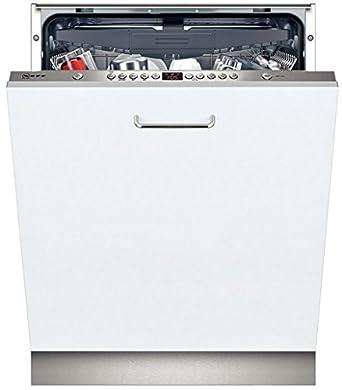 Neff S51L58X0EU lave-vaisselle - lave-vaisselles (Entièrement intégré, A, A++, Acier inoxydable, Blanc, boutons, Auto 45-65 ºC, Économie, Pré-lavage, Rapide)