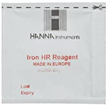 Hanna Instruments HI 721-25 Reagents Iron for HI 721 Checker HC (Pack of 25)