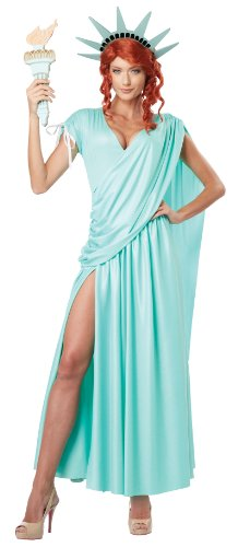 California Costumes Women's Lady Liberty Adult