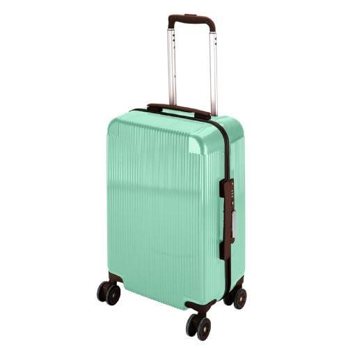 キャプテンスタッグ(CAPTAIN STAG) シック トラベルスーツケース TSAロック付きコンパクトタイプ シーグリーン UV-44