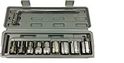 Maxi 10 PCS TOOL KIT SOCKET WRENCH SET