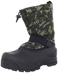 Northside Frosty Winter Boot (Toddler/Little Kid/Big Kid),Camo Green,6 M US Big Kid