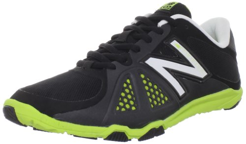 New Balance Women's WX20v2 Minimus Cross-Training Shoe,Black/White,7.5 B US