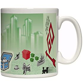 Click to order the Monopoly tokens coffee mug from Amazon!