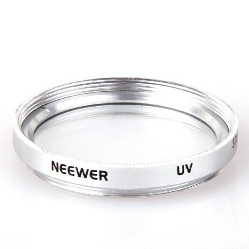 Neewer 37mm UV UltraViolet Lens Filter for Sony Panasonic Camcorder SLR Lens