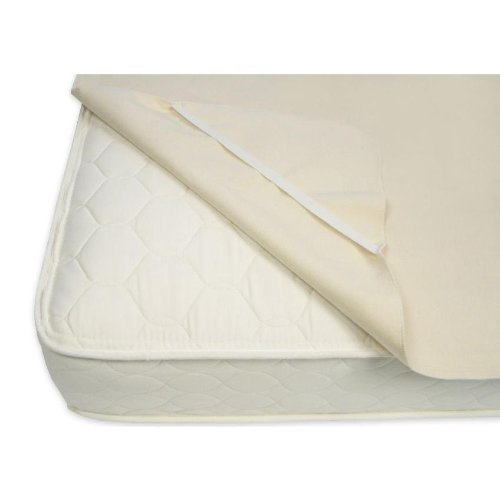 Naturepedic Organic Cotton Waterproof Pad with Straps - Full