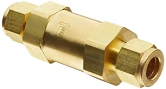 Parker F Series Brass Instrumentation Filter, CPI Compression Fitting