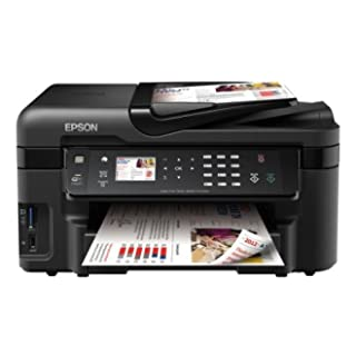 Epson Workforce WF 3520 DWF - Impresora Multifunción Color