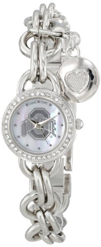 """Game Time Women'S Col-Chm-Osu """"Charm"""" Watch - Ohio State front-639278"""