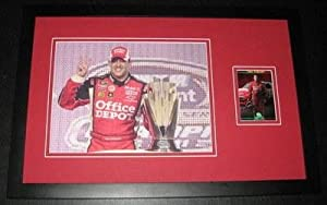 Autographed Tony Stewart Photograph - Framed 11x17 Poster Display - Autographed... by Sports Memorabilia
