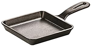 Lodge 12 7 Cm 5 Inch Pre Seasoned Cast Iron Mini Square