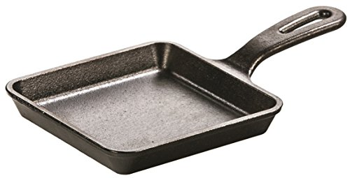 Lodge L5WS3 Cast Iron Wonder Skillet, Pre-Seasoned, 5-inch (5 Inch Lodge Cast Iron compare prices)