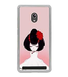 ifasho Designer Phone Back Case Cover Asus Zenfone 6 A600CG ( Makeup Set Colorful Image )