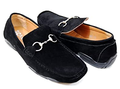 the gallery for gt black suede dress shoes for men