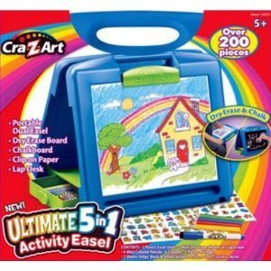 Craft Ideas for Kids: Ultimate 5-in-1 Activity Easel