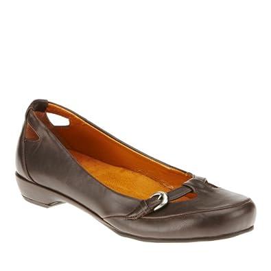 Vionic By Orthaheel Sophia Flat Shoes, Chocolate, 5 M/B