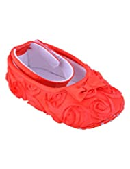 Felcy Fashions Girls' 1 Year Red Cotton Shoe