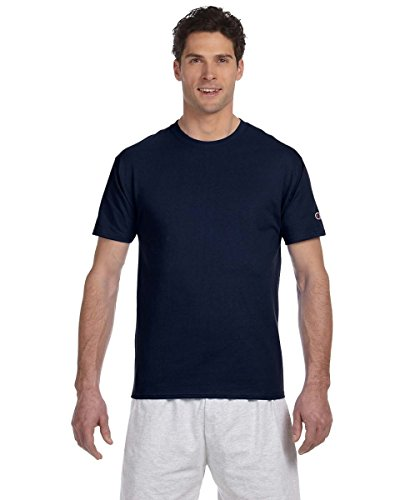 Champions 6.1 oz Cotton Tagless T-shirt - Navy T525C XL (Baseball Tee Champion compare prices)