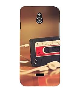 MUSIC Designer Back Case Cover for Infocus M2