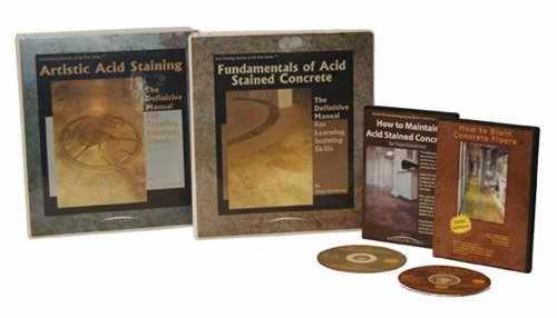 Acid Staining Secrets of the Pros: Master Stainers Package - Loose-leaf & DVD - Bridgeworks - 1450761585 - ISBN:1450761585