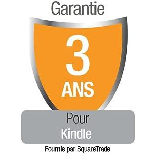 Garantie de 3 ans avec protection en cas d'accident et de vol pour Kindle, réservée à notre clientèle résidant en France Métropolitaine