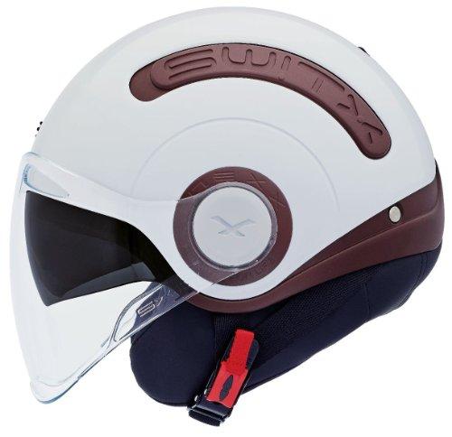 Casque moto NEXX SWITX SX.10 DIRECT - L - Blanc/Marron