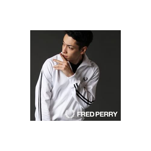 【FRED PERRY/フレッドペリー】トラックジャケット J5327 M RED/NAVY